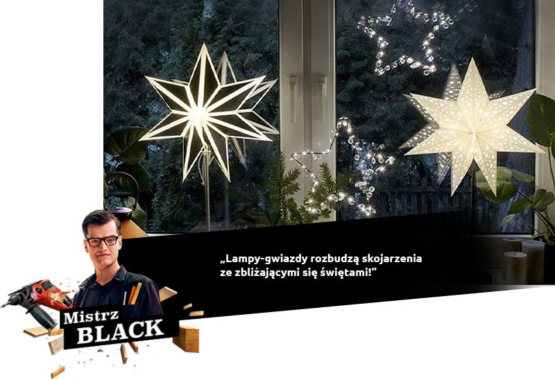 black lampy