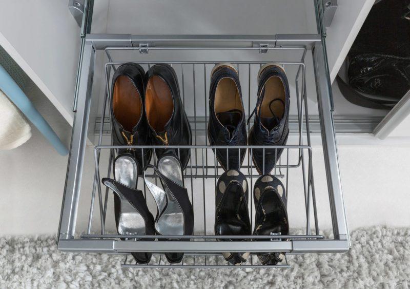 Panier à chaussures Nadir - toutes les chaussures à portée de main