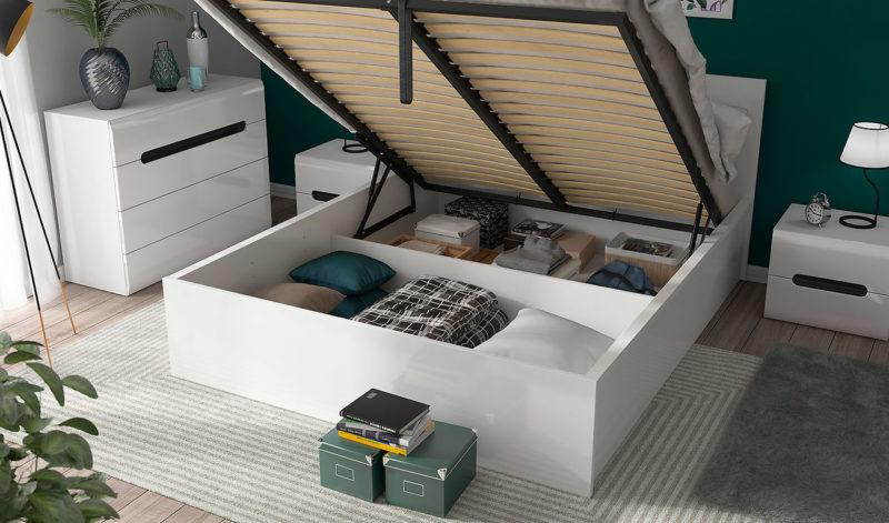 Łóżko Tetrix 160 otwarte