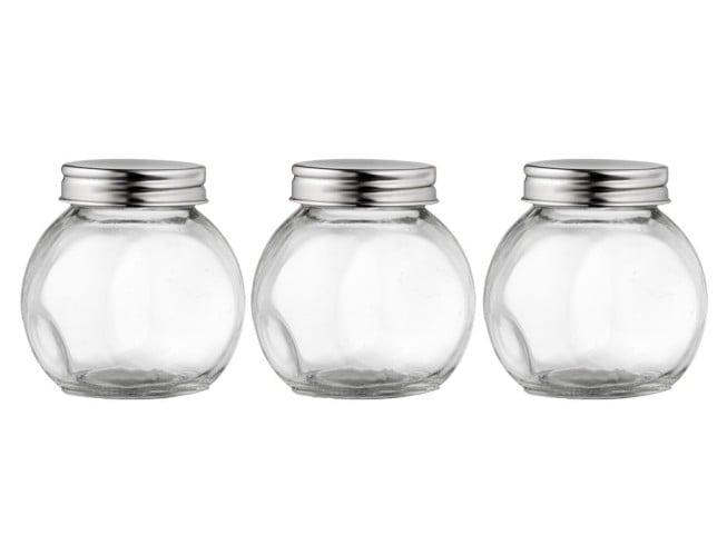 Komplet 3 pojemników na przyprawy Simple