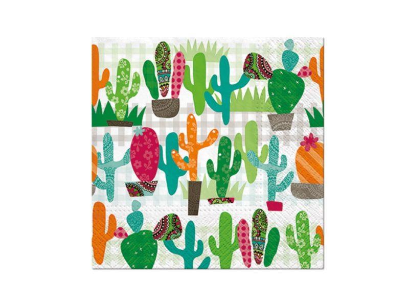 Serwetki Cactus Garden