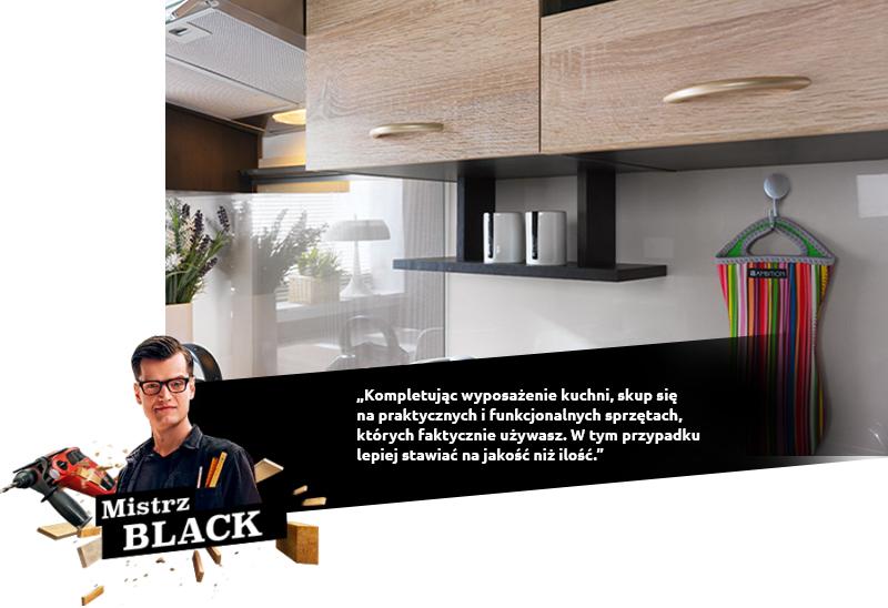 black kuchnia