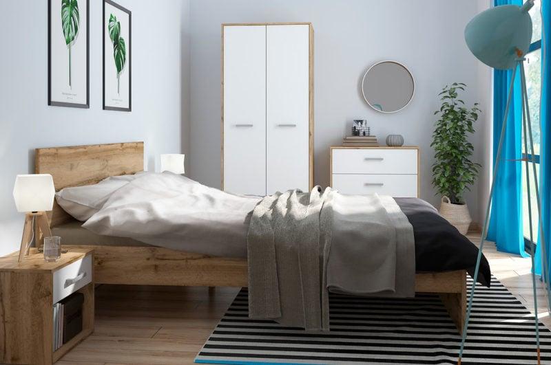 Meble do sypialni z kolekcji Matos