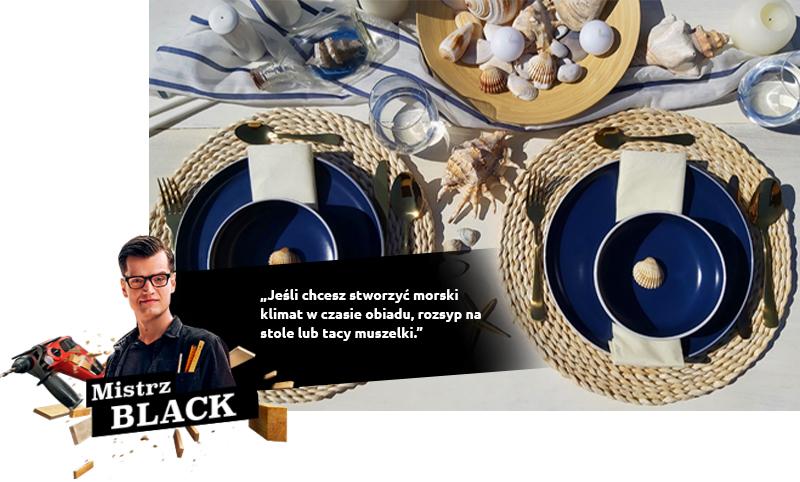 Si vous voulez créer une atmosphère maritime au dîner, éparpillez-y des coquillages