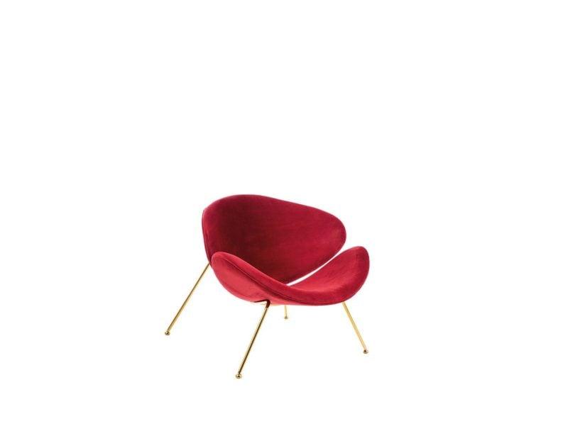 Fotel bordowy Major