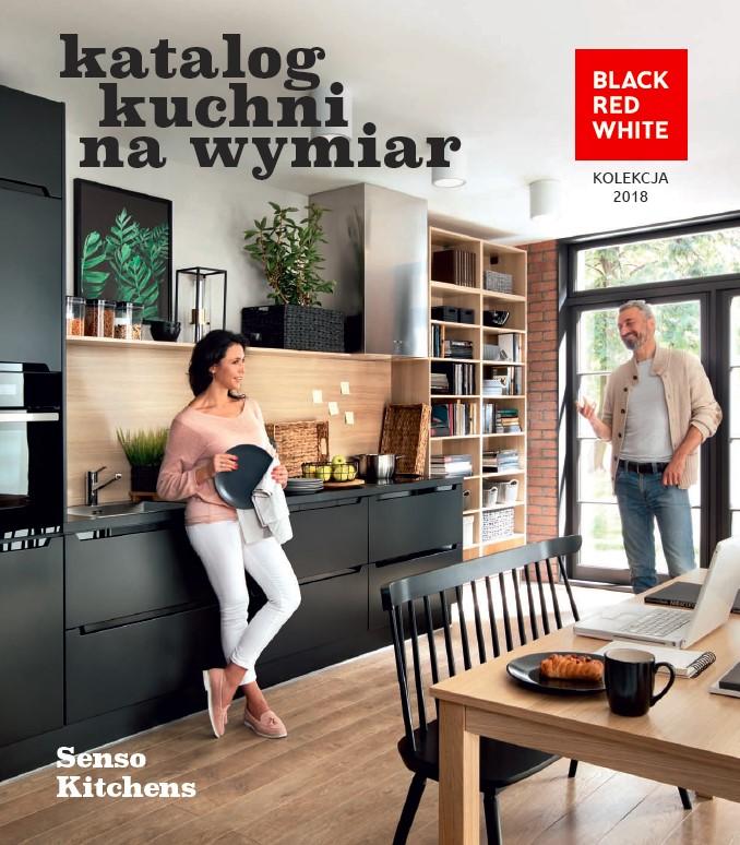 Black Red White, katalog kuchni na wymiar Senso Kitchens