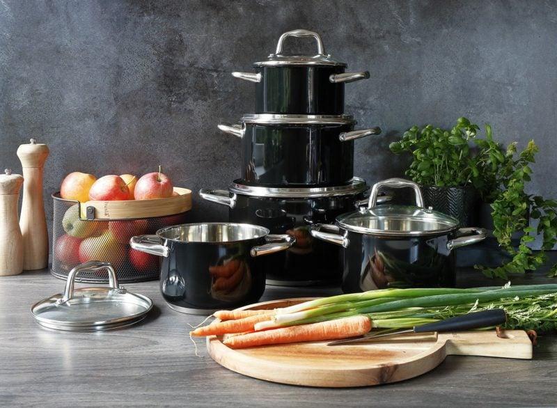 Le pot Nero est parfait pour préparer des conserves ou des compotes