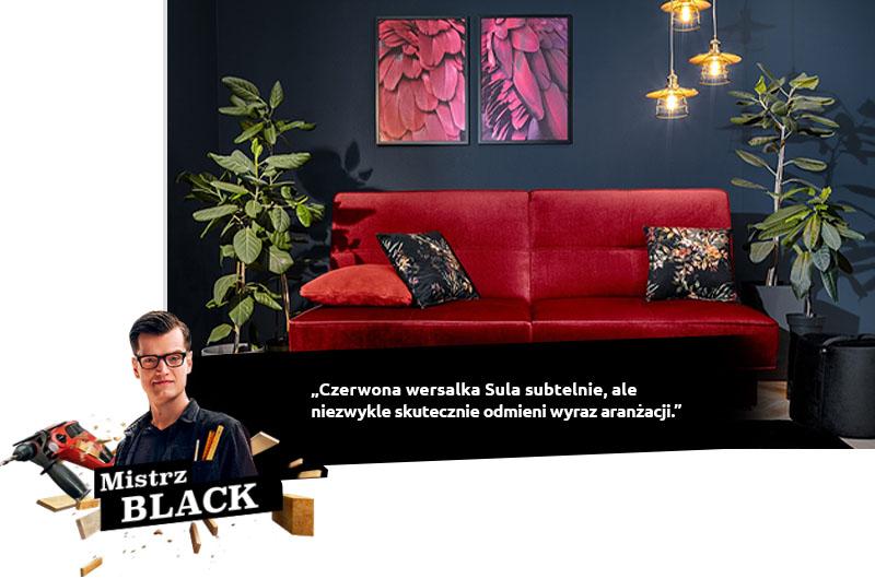 black wersalka