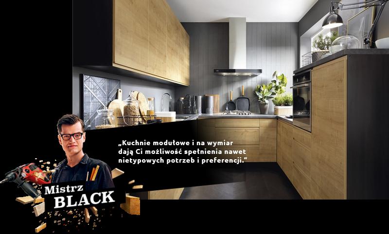 Kuchnie modułowe i na wymiar
