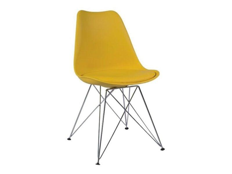 Krzesło żółte Tim