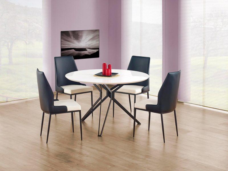 table ronde en pixels