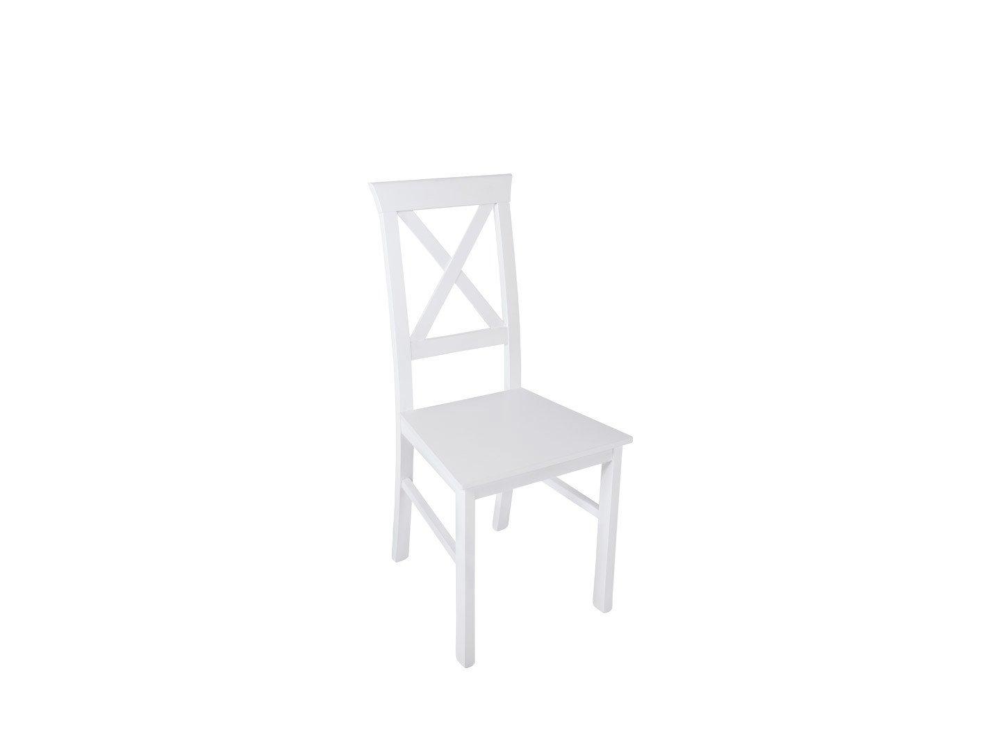 Białe krzesło Alla