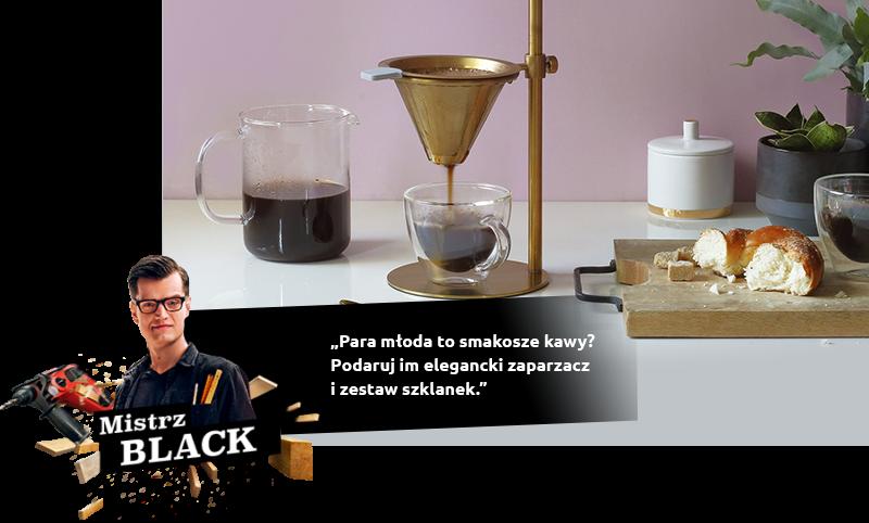 Elegancki zaparzacz kawy