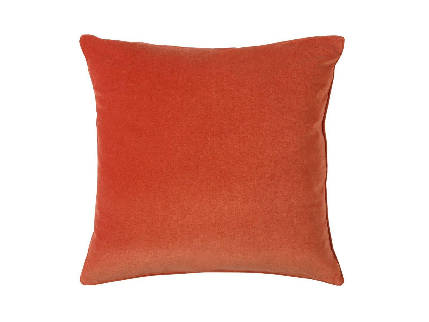 Pomarańczowa poduszka Velvet