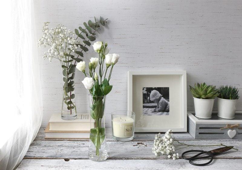 Rośliny w wazonach