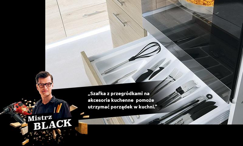 Organizery do szuflad kuchennych