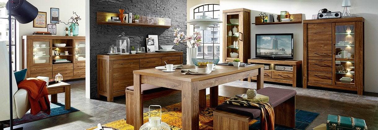 salon drewno