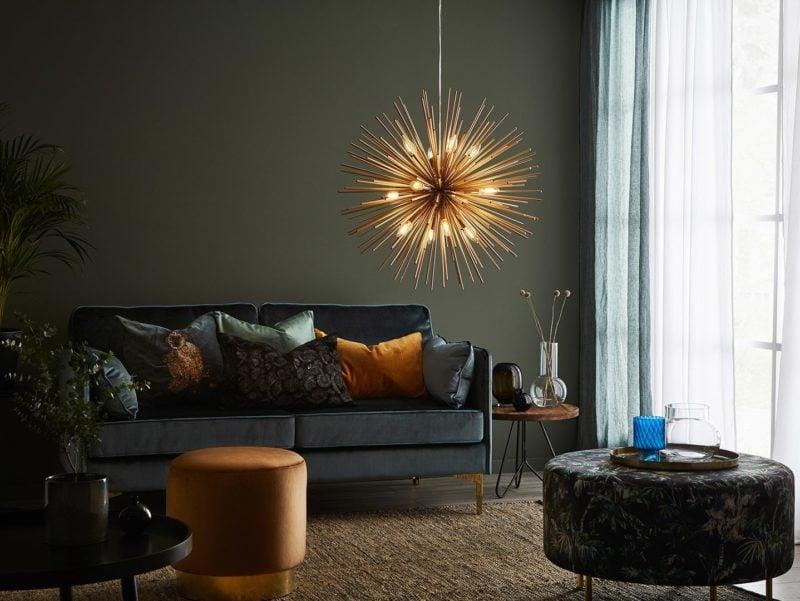 Lampe suspension Soleil