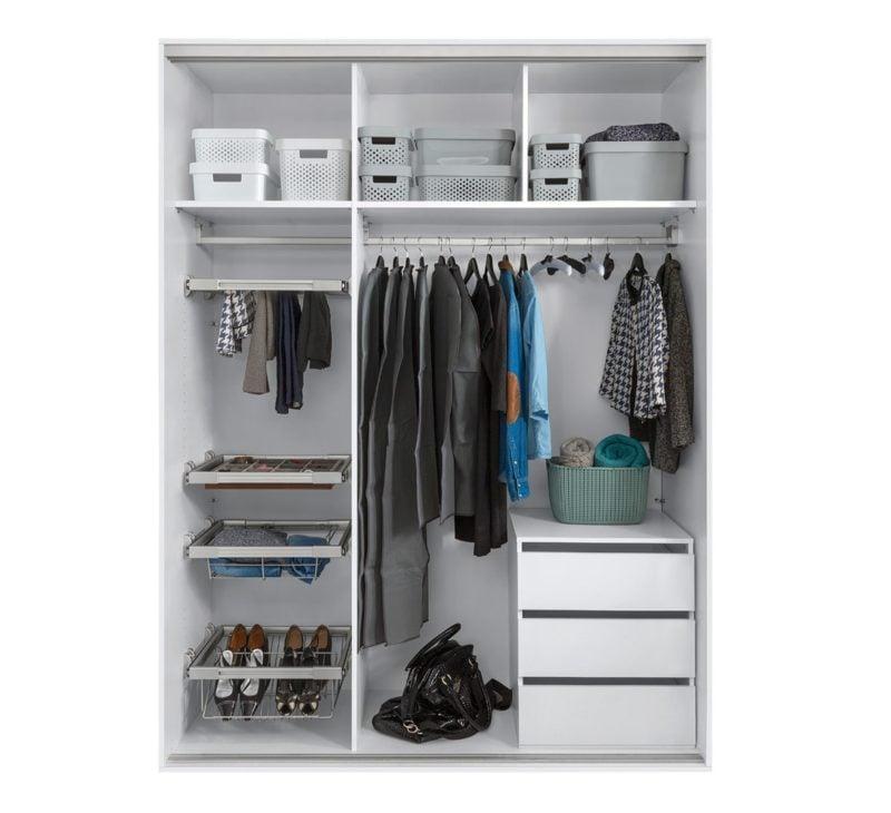 Créez une armoire bien équipée pour vous et vos invités avec une armoire Nadir