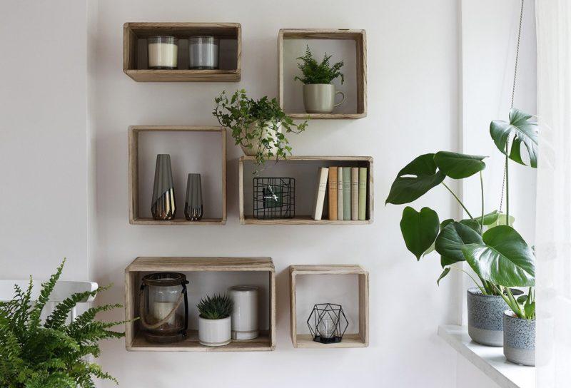 Komplet półek dekoracyjnych