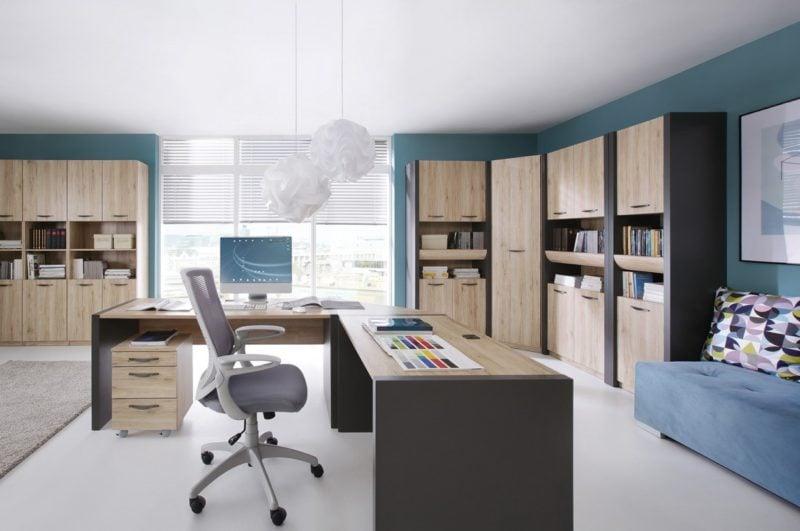 Modułowe meble biurowe Executive możesz łatwo dopasować do swoich potrzeb
