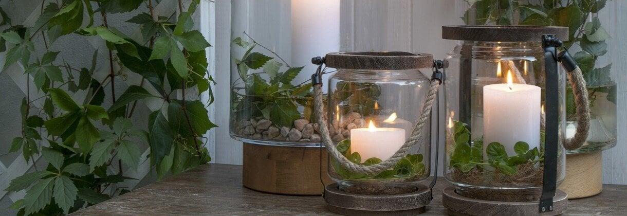 Bougies de jardin: une alternative aux lampes