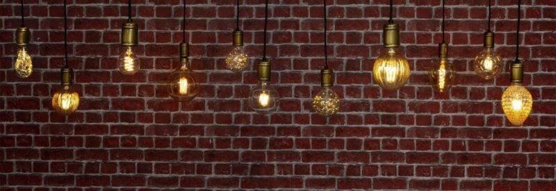 Le style boho original sera fourni par des lampes décoratives LED E27 6W avec des formes intéressantes