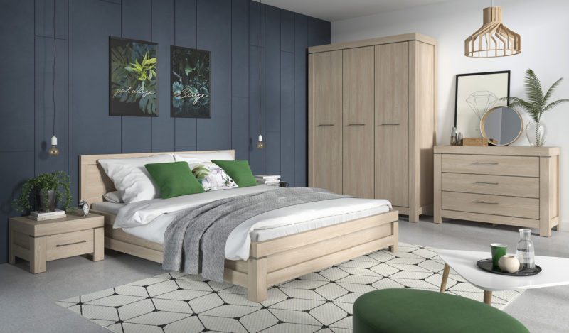Comment et où installer le lit dans la chambre?