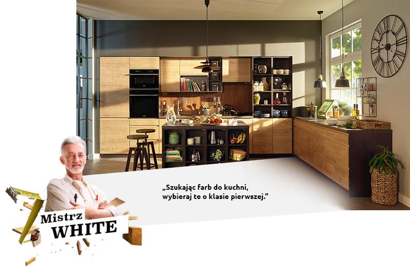 BLANC: Lorsque vous recherchez des peintures pour la cuisine, choisissez celles de première qualité.