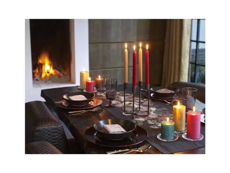 Świeca Rustic wraz z innymi stworzy wyjątkową dekorację Twojego stołu