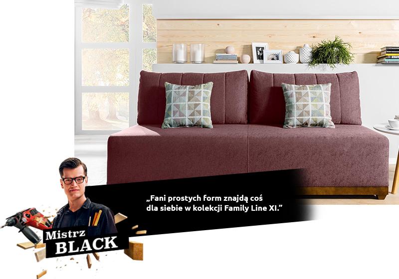 BLACK: Fani prostych form znajdą coś dla siebie w kolekcji Family Line XI.