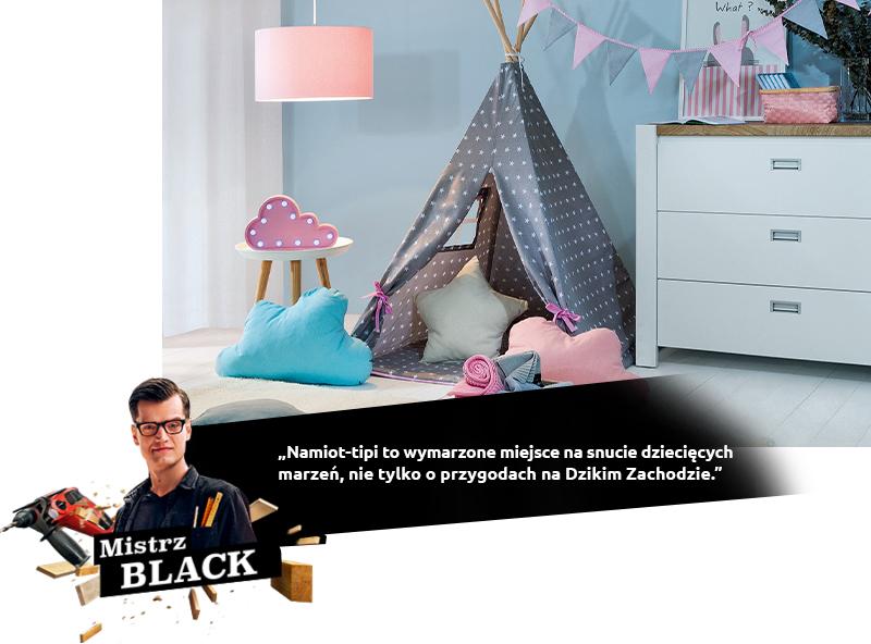 Black namiot tipi