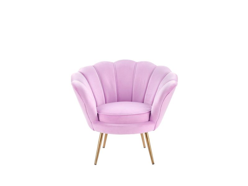 Fotel różowy Amorino