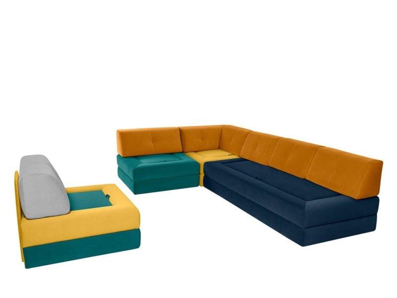Sofa modułowa 3 BK Comino