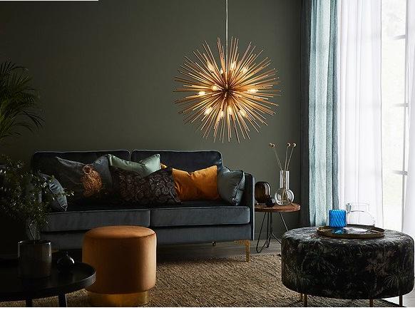Lampa Soleil – idealna do wysokich i dużych wnętrz