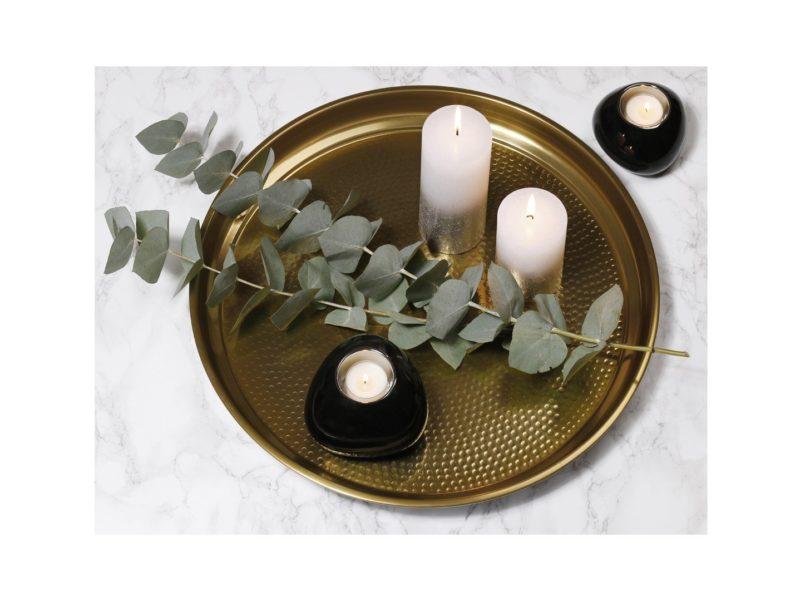 Swiecznik ceramiczny