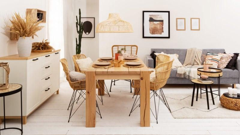Jaką lampę powiesić nad stołem w jadalni?