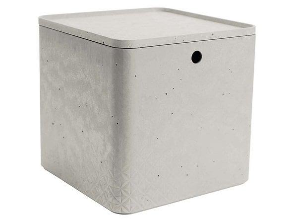 pojemnik z pokrywką 18l Beton