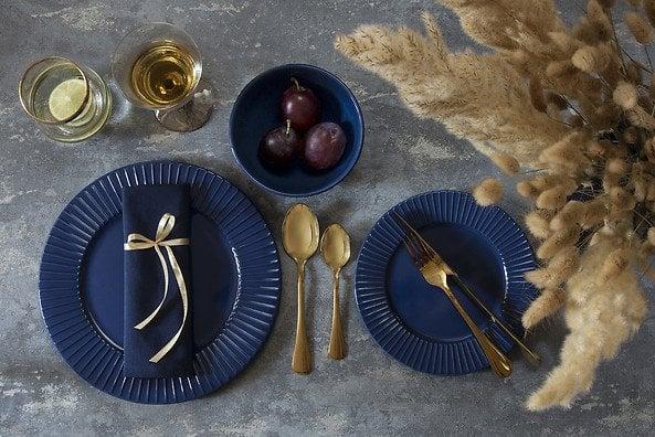 komplet obiadowy Verona Aqua