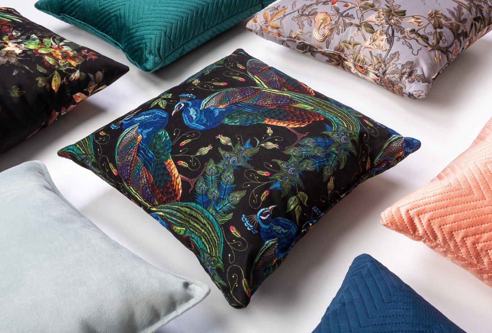 poduszki dekoracyjne Peacock