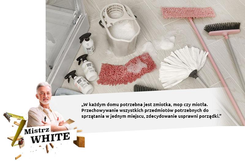 white porządki