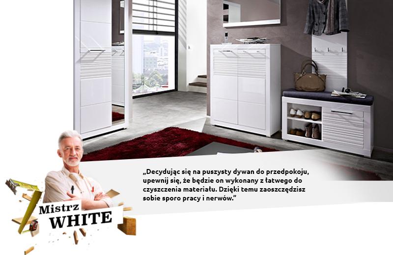 white dywan