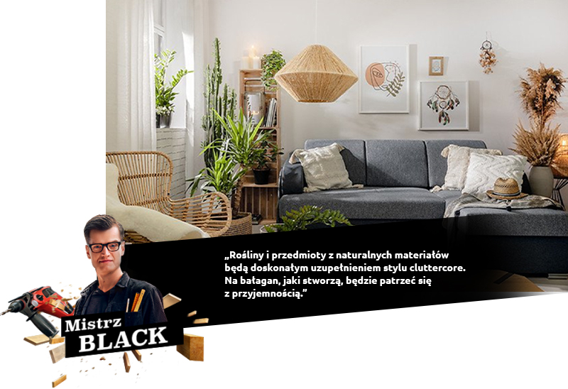 black cluttercore