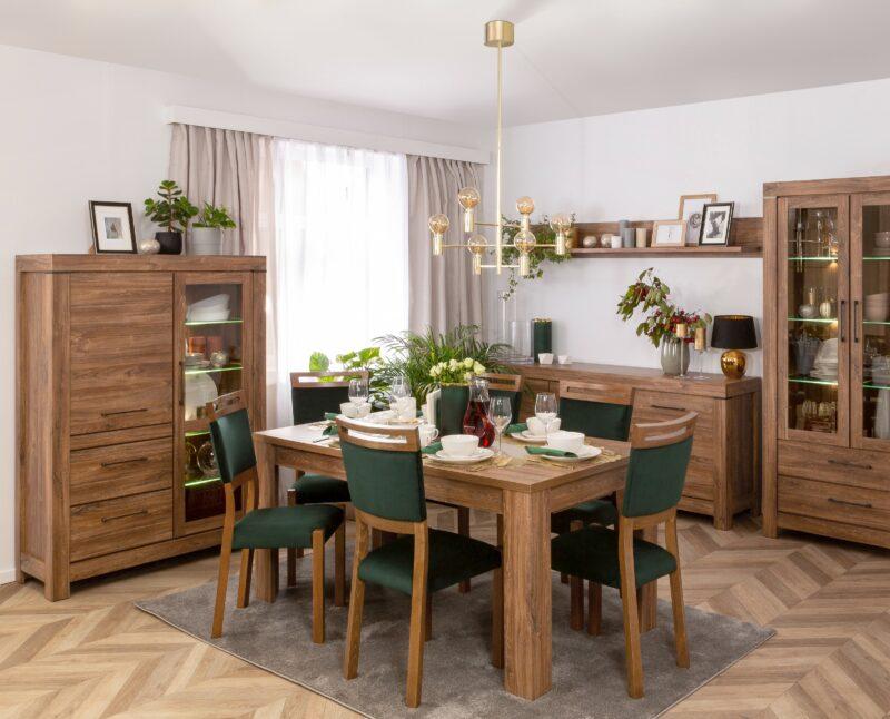 Niewymuszona elegancja – klasyczne krzesła do jadalni