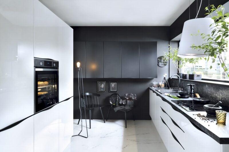 Kuchnia w stylu glamour – przepis na eleganckie wnętrze