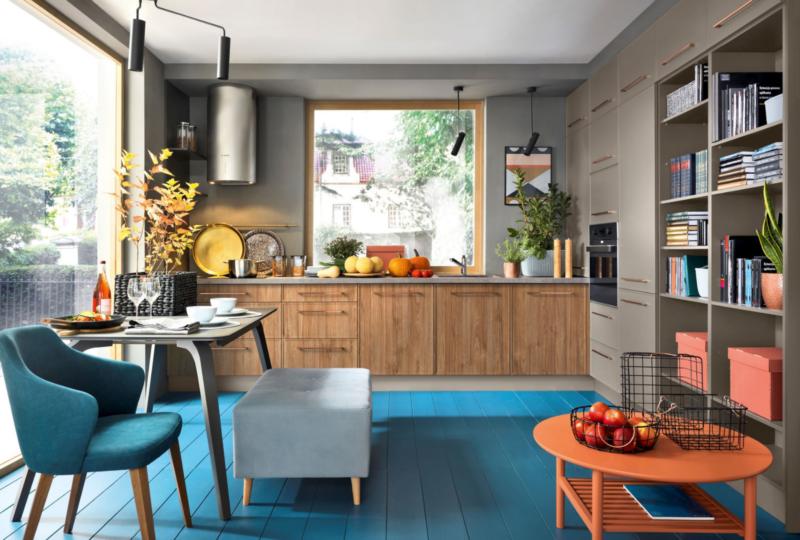 W zgodzie z trendami: sprawdź, jakie kolory mebli kuchennych są modne w 2021 roku