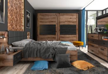 Urządzamy małą sypialnię dla dwojga w stylu loftowym – jakie meble i dodatki wybrać?