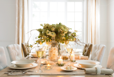 Z odrobiną luksusu – urządzamy jadalnię w stylu glamour