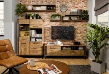 Minimalistycznie i gustownie – idealne meble do przechowywania w stylu industrialnym