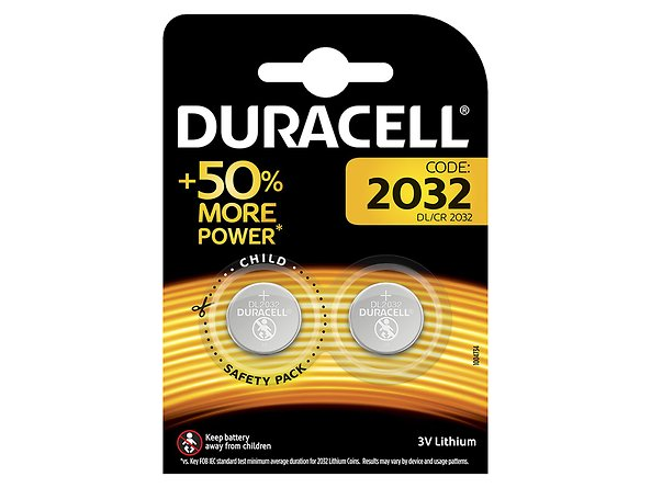 baterie Duracell Litowe DL 2032, 46530
